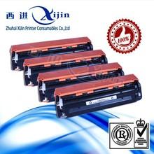 Premium quality! Compatible HP toner cartridge CB540A CB541A CB542A CB543A color toner cartridge for HP