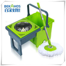 Bekahos PP Mop Head Material and Foldable Handle Type smart twist 360 mop