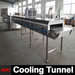 Cost Saving Full Automatic potato slicer Cooling Tunnel For High-output Production Line