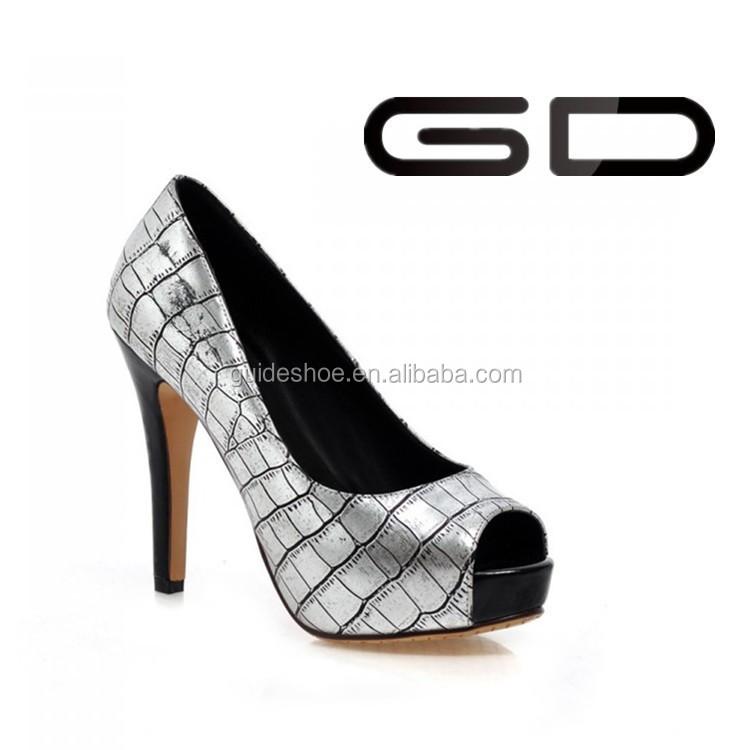 platform high shoes 2014 peep toe high heel