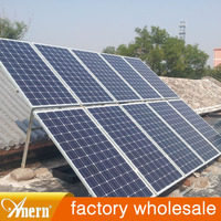 Anern newest production led solar home lighting system in india