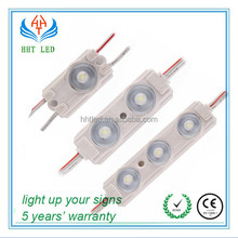 Factory 170 Degree 3leds Good Price Led Module / High Power Led Module With Lens 2835 / Waterproof LED Module 12V (HHT-STF-T3)