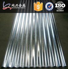 zinc roof sheet price for temporary wall plate