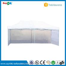 wedding decoration white folding tent flat top folding canopy tent