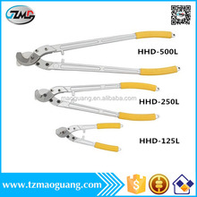 hand cable cutter which can cut 120mm2 240mm2 and 400mm2 copper aluminum wire HHD-500 hand held grass cutter