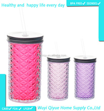 2015 new products joyshaker cup with ball plastic cup with lid tube cup japan