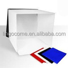 Square Photo Light Tent In-a-box, SQUARE TENT for photographic