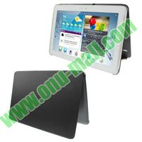 High quality Official Design Cloth Texture Plastic + Leather Case for samsung galaxy tab 2 10.1 p5100 p5110
