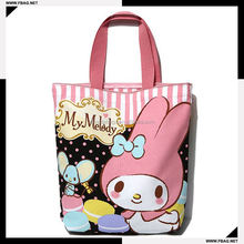 wholesale handled style gift cotton candy packaging bag