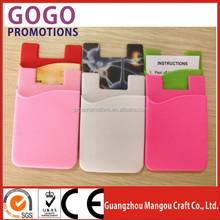 2015 Hot Sale silicone wallet for mobile phone china wholesale