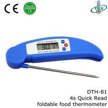 pocket folding digital thermometer,quick read pocket digital kitchen food milk thermometer,pocket digital thermometer