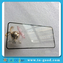 Mobile Phone Accessories Factory In China, Black Color For iPhone 6 Full Cover Tempered Glass Screen Protector