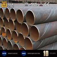 Q235 submerged arc welding saw steel pipe /erw spiral wound steel pipe