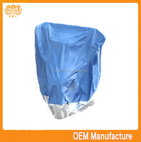 Double colour 190t silver coated exercise bike covers at factory price