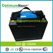 hot sell!!! 12v lithium ion ups battery pack 120ah