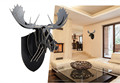 Idílico Bighorn deer head decoración para el hogar
