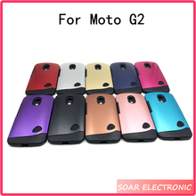 Bulk buy from china TPU PC Hybrid case for Motorola Moto G2 mobile accessories phone case with 13 colors