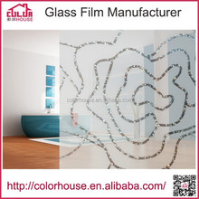 new design decorative for home/office laser frosted window film