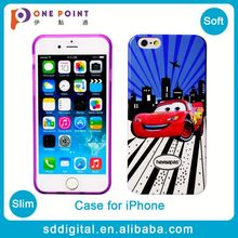 Hot sale cheap custom designer cartoon car soft tpu phone case