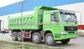 Camión de desecho SINOTRUCK HOWO 8x4 336hp