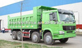 sinotruk howo 8x4 336hp caminhões basculantes