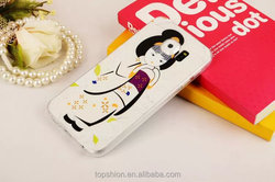 new tpu fashion cell phone cover for samsung galaxy s6 for girls