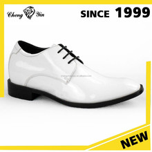 New Arrival Genuine Leather Summer Formal Men Dress Shoes White Leather