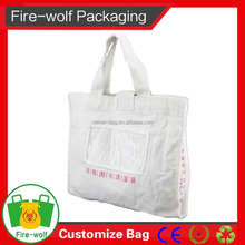 Event Planning Company Custom High Quality Stylish Cotton Tote Bag With Campany Logo