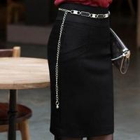 Retail Solid Color Bodysuit Women''s A-line Skirt Knee Length Uniform Short Dress Blazer Skirt