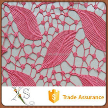 Dress Fabric Chemical Lace Embroidery Fabric For Wedding Dresses