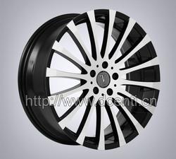 2015 Popular spoke wheel car alloy wheels with 17 - 20 inch