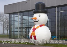 christmas decoration inflatable snowman