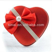 Wedding Gift Heart Shaped Candy Mini Tin Box
