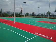 outdoor basketball sports flooring/Interlock Tiles