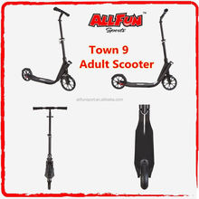 Foldable Teen and Adult Cruiser Kick Scooter with Double Suspension