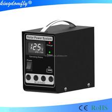 Hot sale portable home lighting solar power kits 5W 10W,20W,30W 40W 50W with LCD digital voltmeter