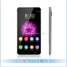 "OUKITEL U8 Universe Tap 5.5"" Android 5.1 MTK6735 Quad Core 4G LTE Mobile Phone Dual Sim 2GB RAM 16GB ROM 1280*720P 13.0MP Camera"
