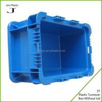 Small plastic tote bins for auto parts