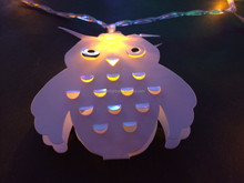 2015 new PVC christmas led light holiday led owl light with CE ROHS certificates