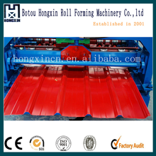 Roof tile and wall panel making machine with high quality for sale abroad