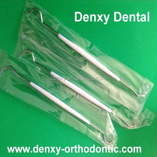 disposable dental product single head stainless steel dental explorder
