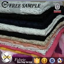 2015 hot sale polyrester organza fabric/silk organza fabric for bridal dress/crystal organza fabric