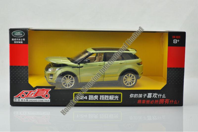 124 Alloy Car Model For Range Rover Evoque-13