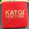 Newest fashion red velvet christmas gift bag