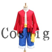 One Piece Costume Luffy 2 years late Anime cosplay Costume uniforms Halloween Costume