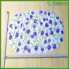 2015 new design absorbing Soft and confortable hot conch baby shower foot mats