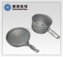 Good Heat Preservation Investment Casting Titanium Cookware