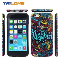 2015 latest 3d printing plastic mobile phone back cover for iphone 6 plus