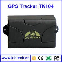 Portable Vehicle Car GPS Tracker 104 with GSM / GPRS Alarm with mini gps tracking chip