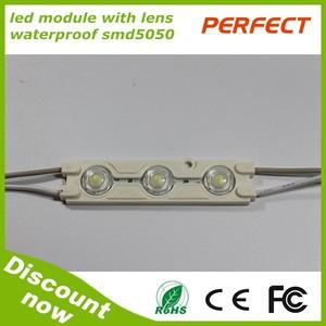 Fábrica al por mayor a prueba de agua smd 5050 módulo led/de inyección módulo led 5050/módulo de luz led
